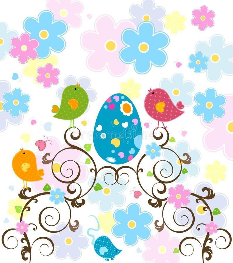 De boom van Pasen stock illustratie