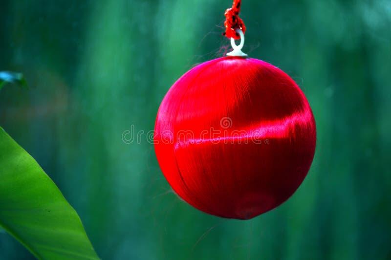 De boomdecoratie van de Kerstmisbal stock foto's