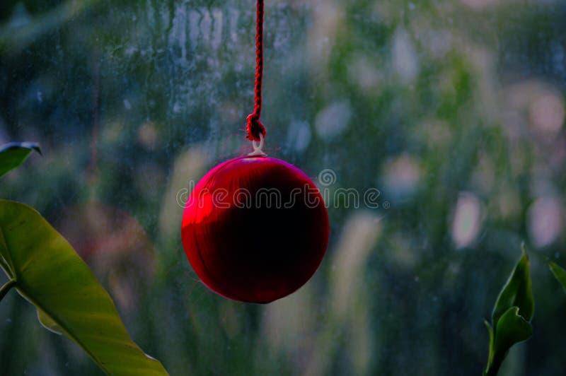 De boomdecoratie van Kerstmisballen royalty-vrije stock foto
