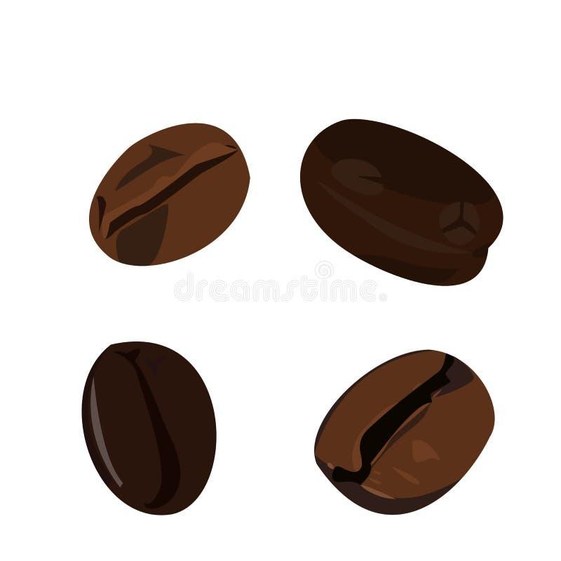 De boon van de koffie stock illustratie