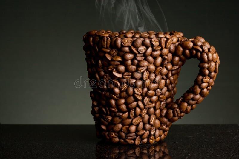 De boonmok van de koffie royalty-vrije stock fotografie