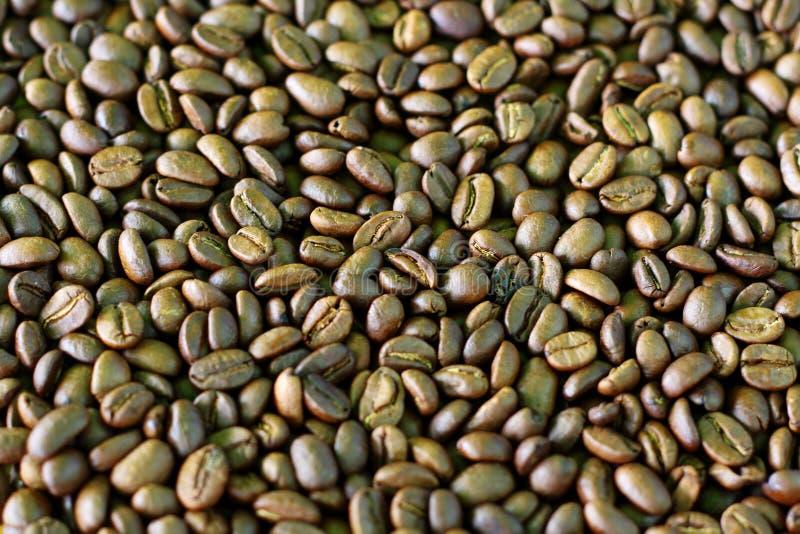 De Boonpatroon Van De Koffie Stock Afbeelding
