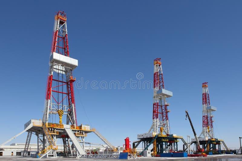 De boortoren van de olie royalty-vrije stock foto
