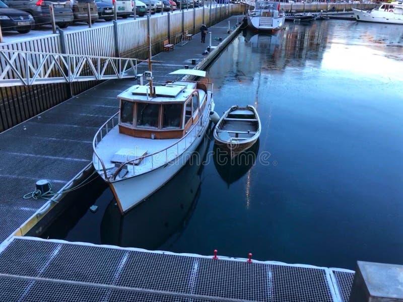 De boot is klaar royalty-vrije stock afbeelding