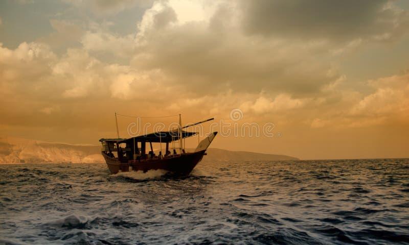 De boot toont royalty-vrije stock fotografie