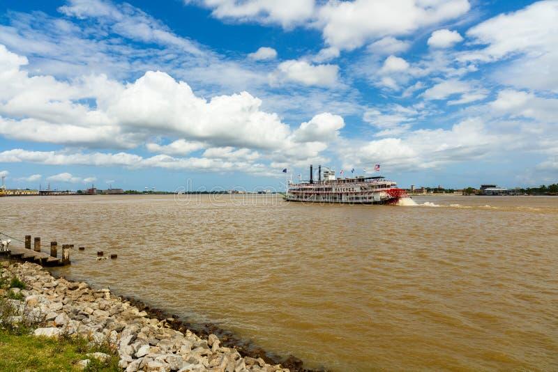 De Boot van de de Rivierpeddel van de Mississippi royalty-vrije stock fotografie