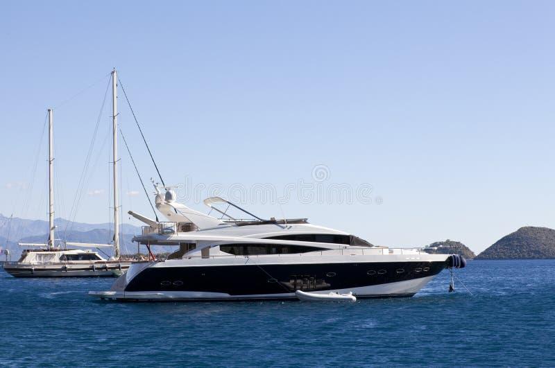De boot van de luxe stock fotografie