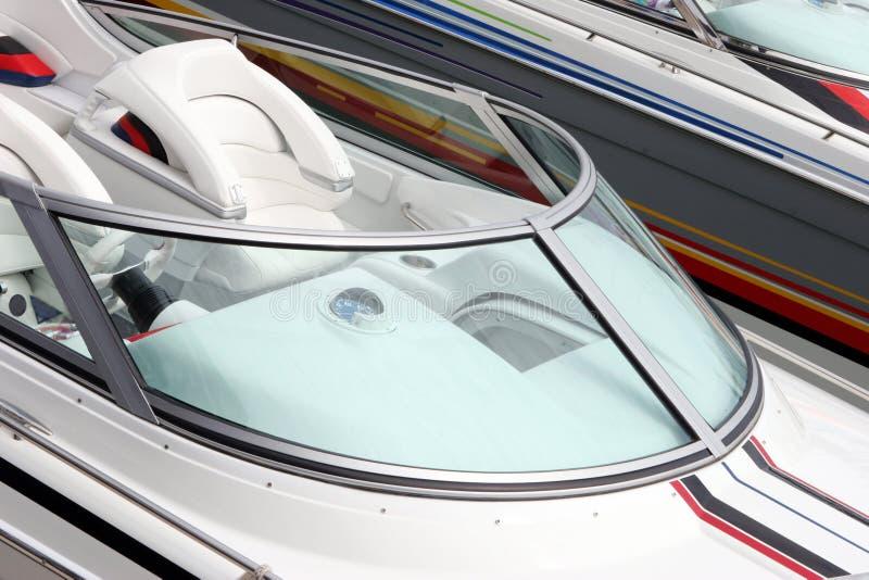De boot van de luxe stock afbeeldingen