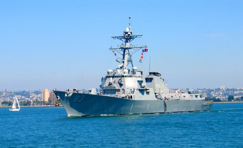 De boot van de marine royalty-vrije stock fotografie