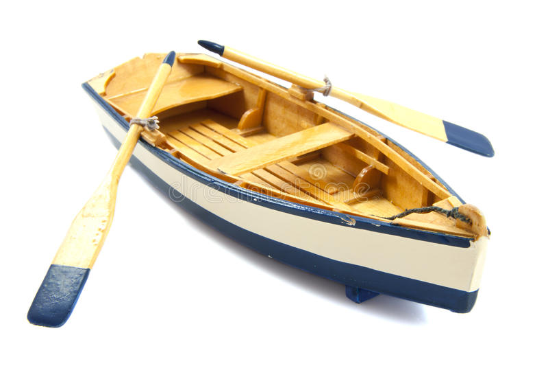 De boot van de rij