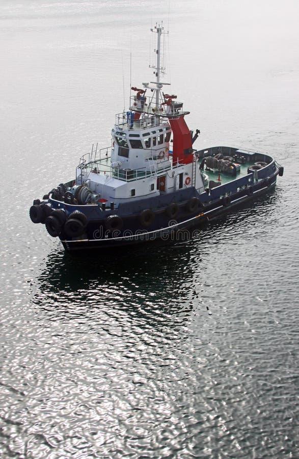 De Boot van de sleepboot royalty-vrije stock afbeeldingen