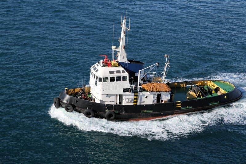 De Boot van de sleepboot royalty-vrije stock foto