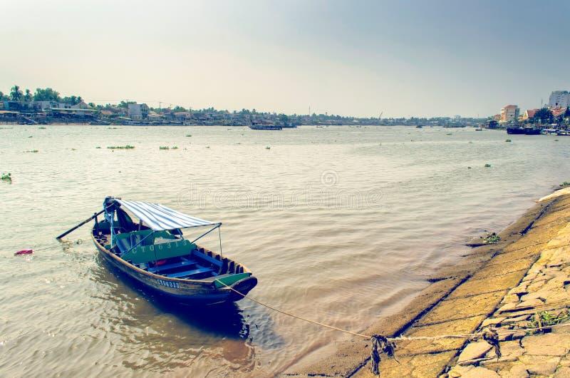 De boot van de toerist stock foto