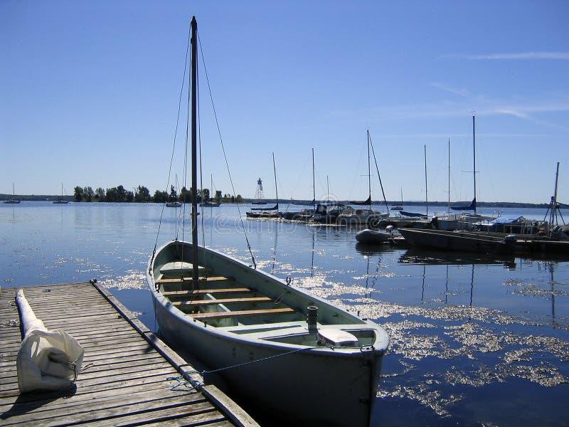 De boot van de walvisvaarder stock foto