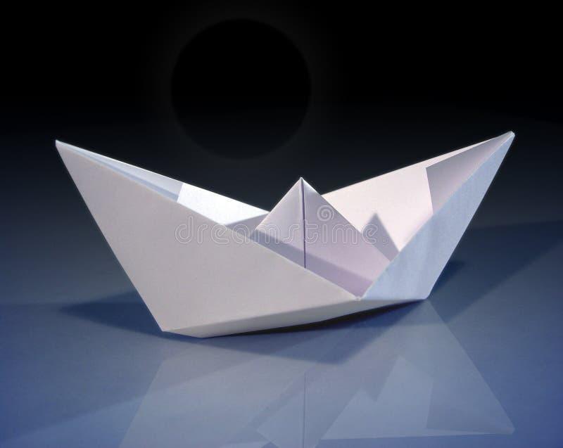 De boot van het document stock fotografie