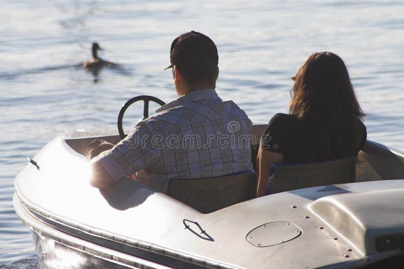 De boot van het pedaal royalty-vrije stock afbeelding