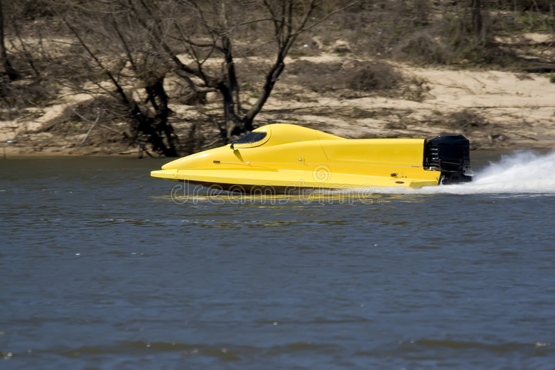 De boot van het ras royalty-vrije stock foto
