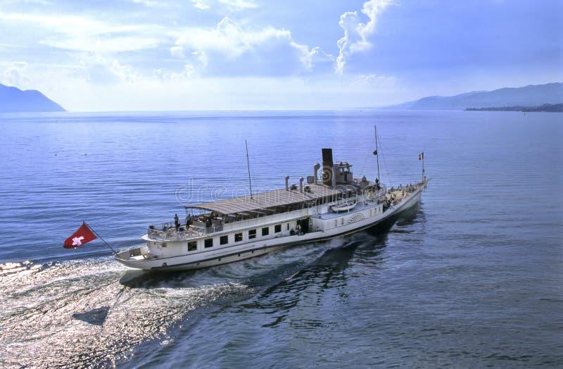De boot van Leman stock foto's
