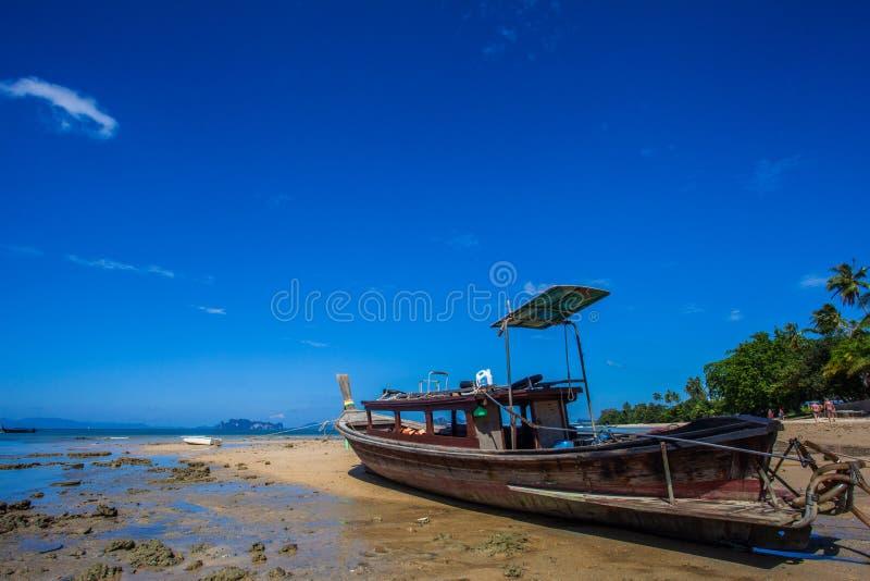 De boot van Longtail royalty-vrije stock foto