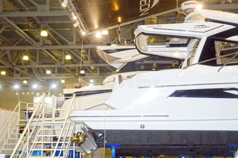 De Boot van Moskou toont 2015 stock afbeeldingen