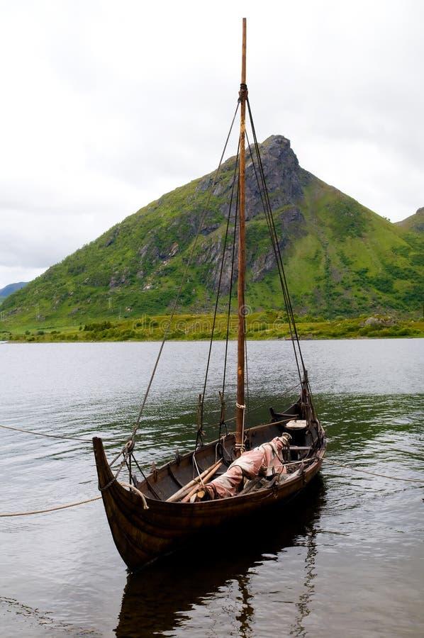 De boot van Viking royalty-vrije stock foto's