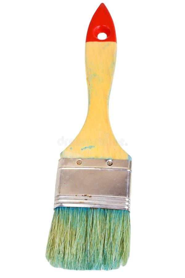 De borstel van de schilder stock fotografie