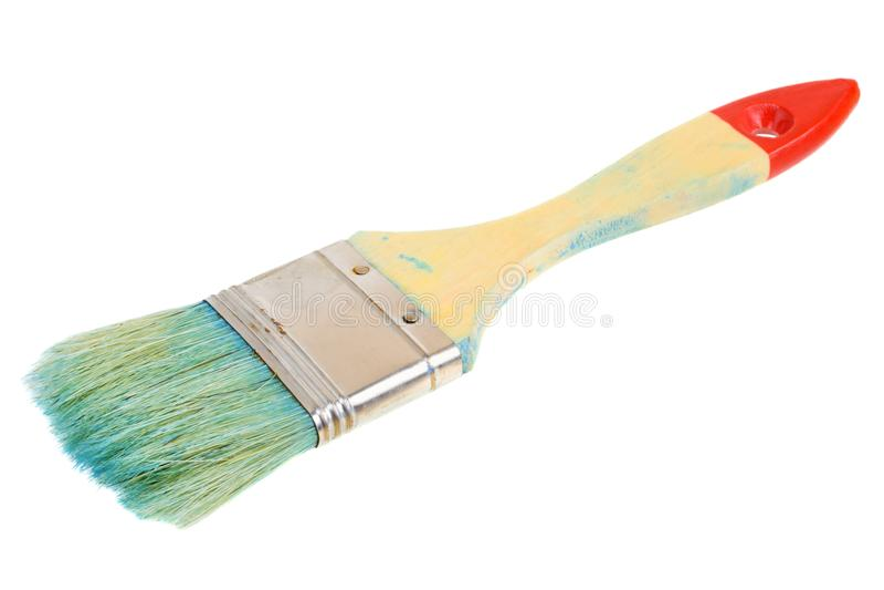 De borstel van de schilder royalty-vrije stock afbeeldingen