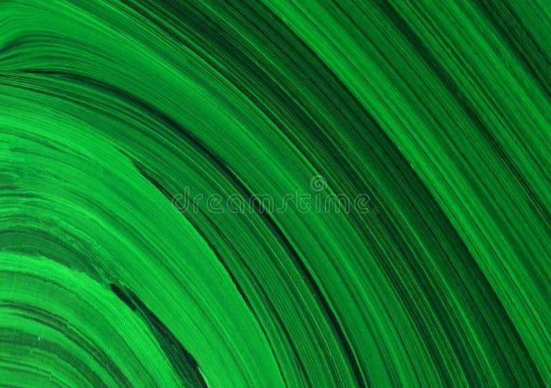 De borstel van de overzeese textuur het groene van de achtergrondgolfverf abstracte de kunstontwerp creativiteitdruk scrapbooking royalty-vrije illustratie