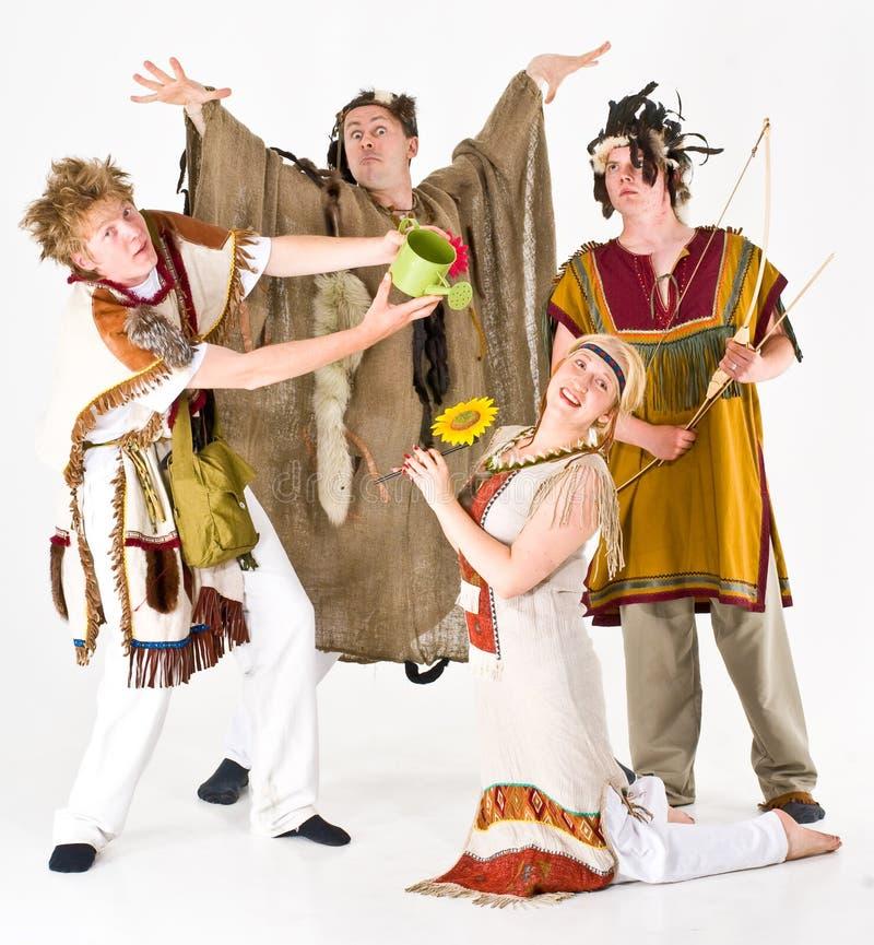 De bos Kostuums van de Geest royalty-vrije stock foto