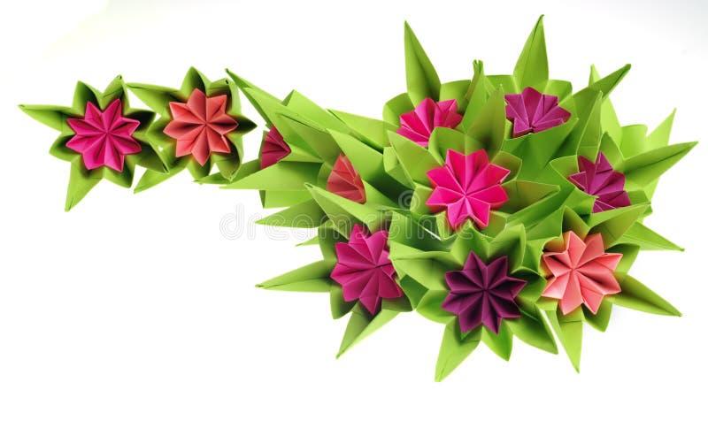 De bos van de origami royalty-vrije stock foto's