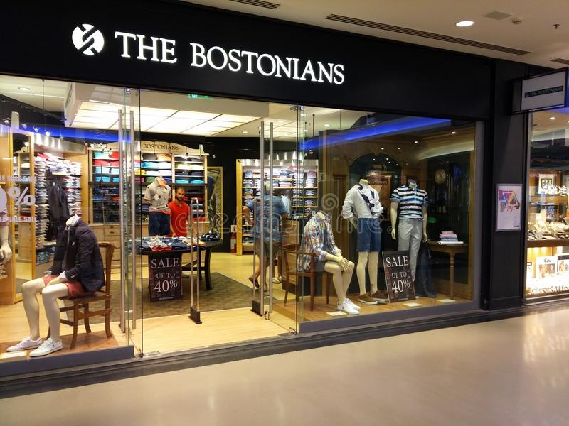 De bostoniansopslag royalty-vrije stock afbeelding