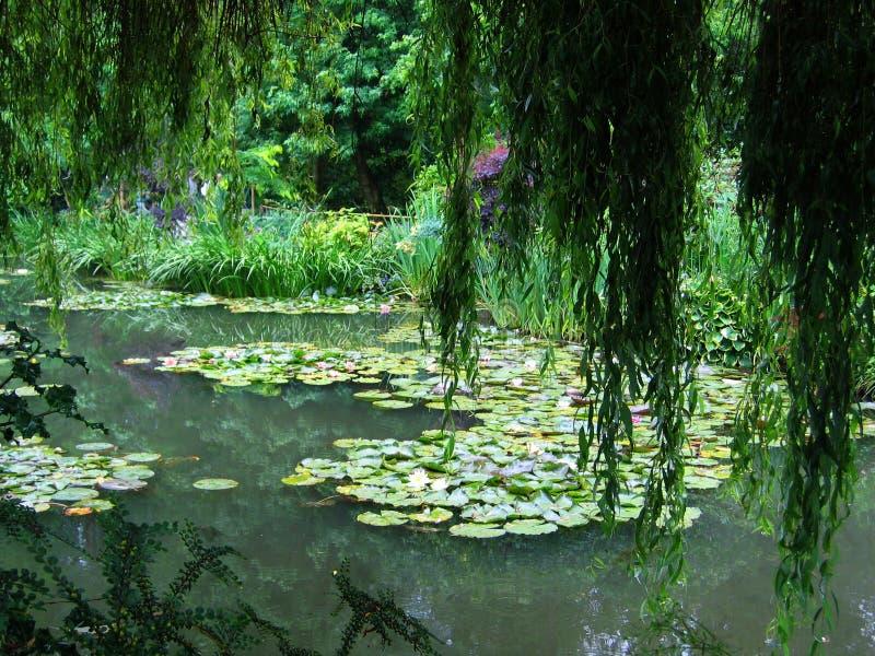 De botanische tuin van Monet stock fotografie