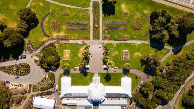 De botanische tuin van San Francisco op een zonnige dag royalty-vrije stock fotografie