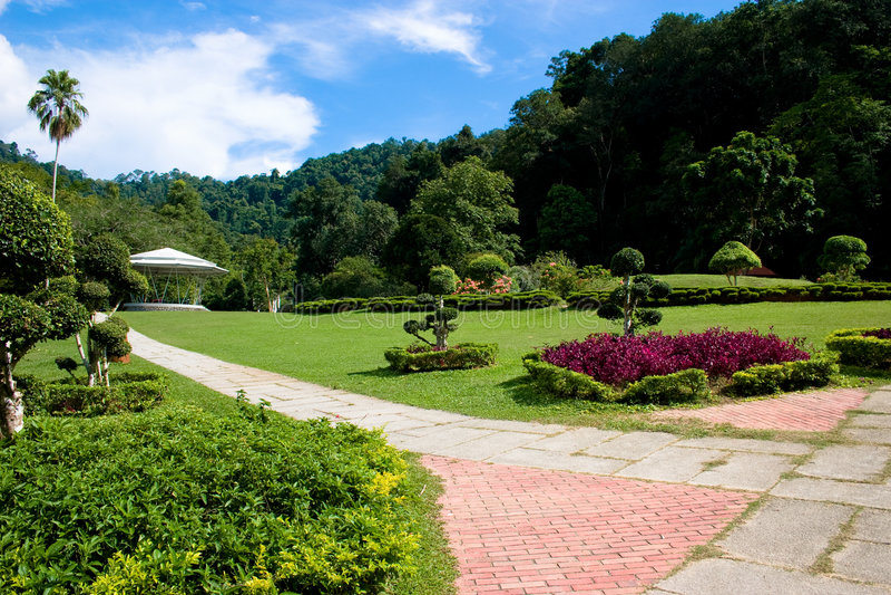 De Botanische Tuinen van Penang stock afbeelding