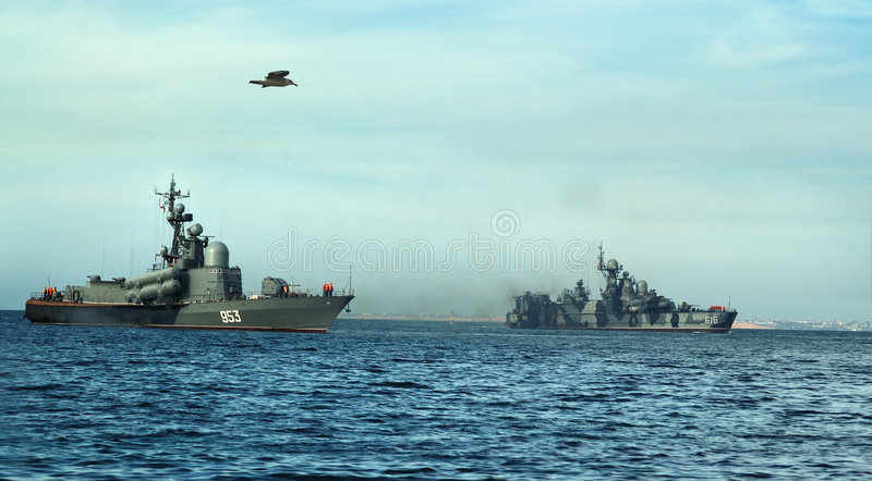 De boten van de raket stock foto's