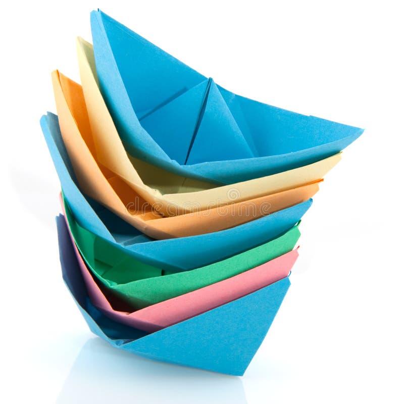 De boten van het document stock fotografie