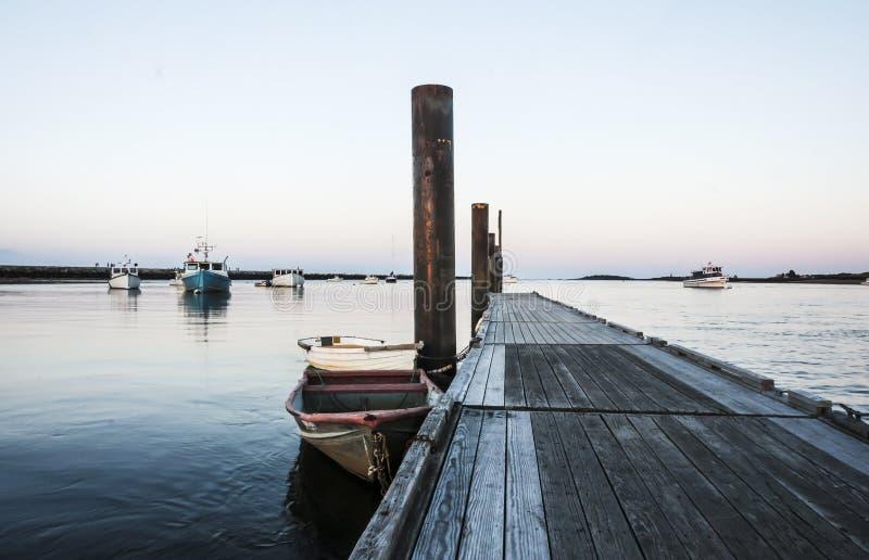 De boten van Maine royalty-vrije stock afbeeldingen