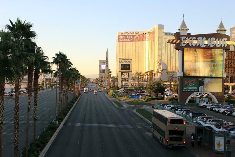 De boulevard van Vegas van Las stock afbeeldingen