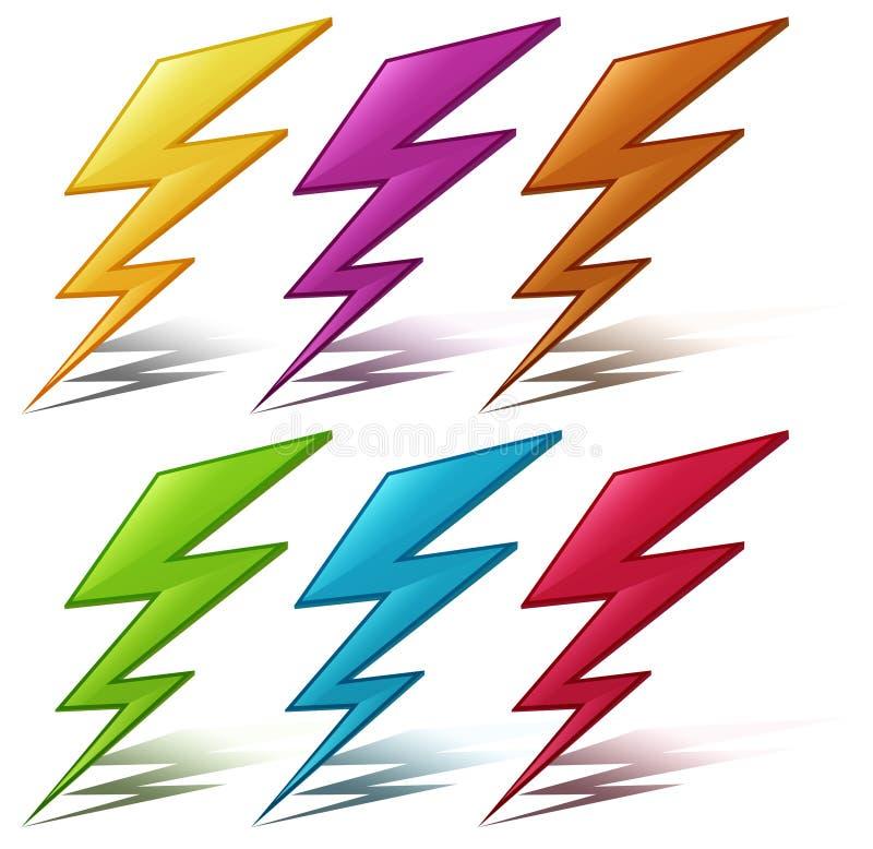 De bout van de verlichting vector illustratie