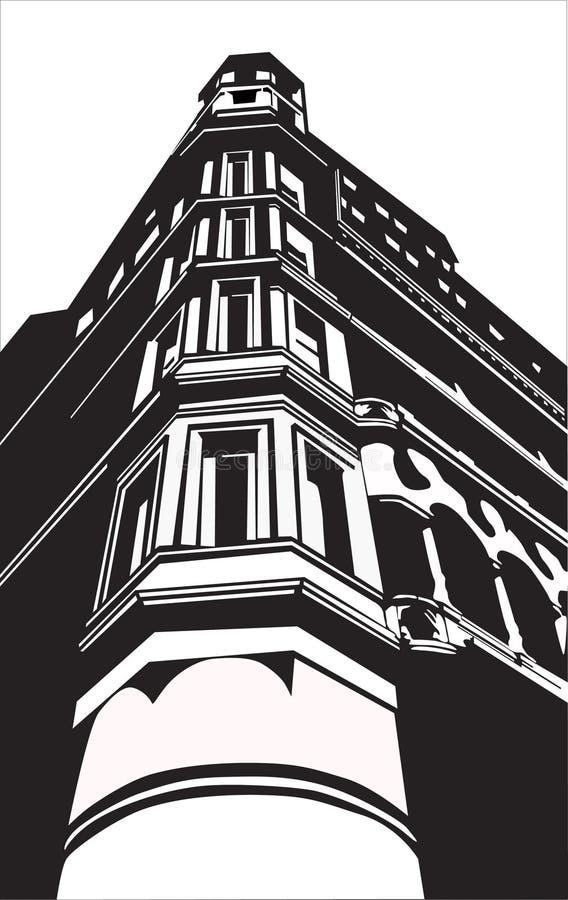 De bouw royalty-vrije illustratie