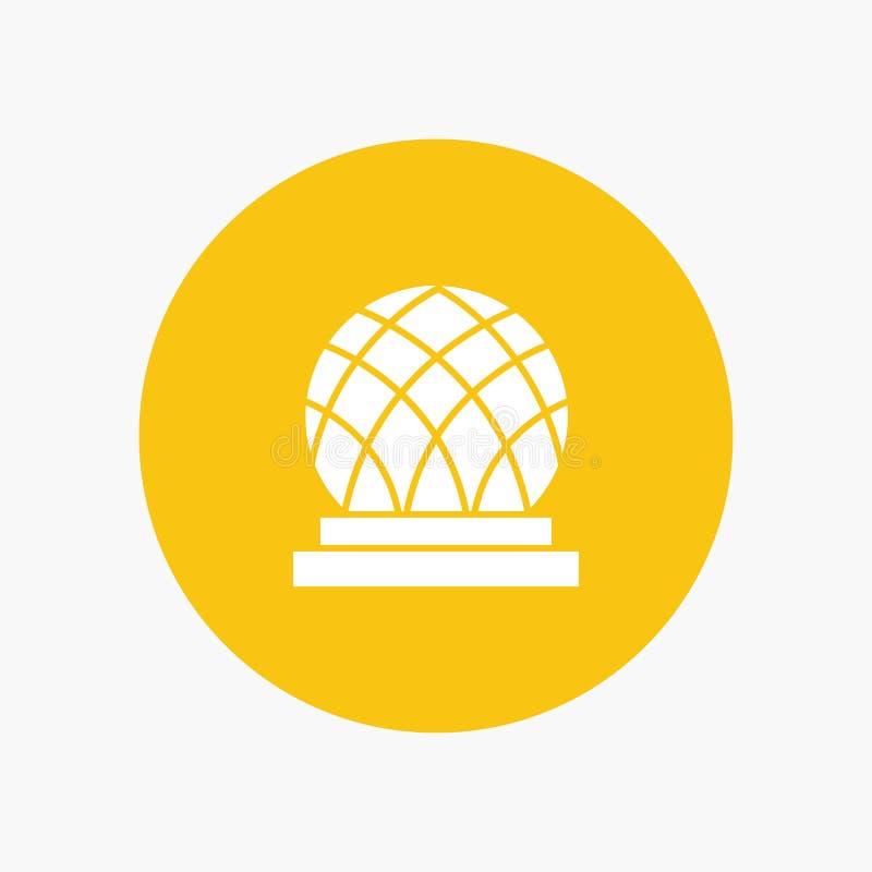 De bouw, Canada, Stad, Koepel royalty-vrije illustratie
