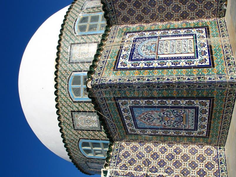 De bouw met mozaïek royalty-vrije stock foto