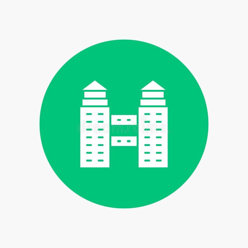 De bouw, Stad, Bouw royalty-vrije illustratie