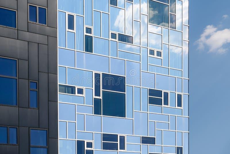 De bouw Uitvoerende Academie maakt deel uit van de Universiteit van Wenen van Economie en Zaken royalty-vrije stock afbeelding