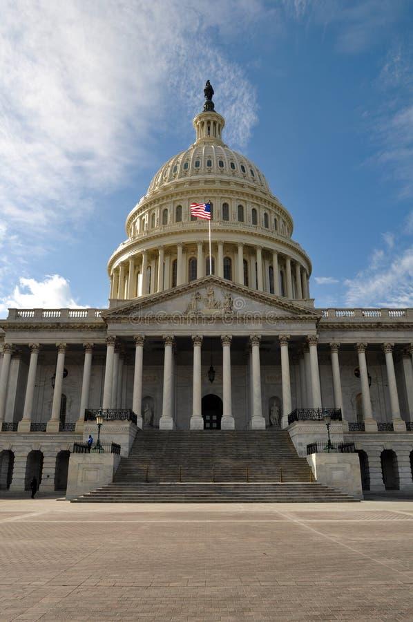 De Bouw van Capitol Hill van het Washington DC stock afbeeldingen