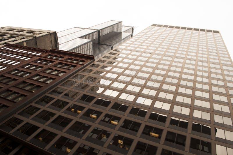 De bouw van Chicago stock afbeelding