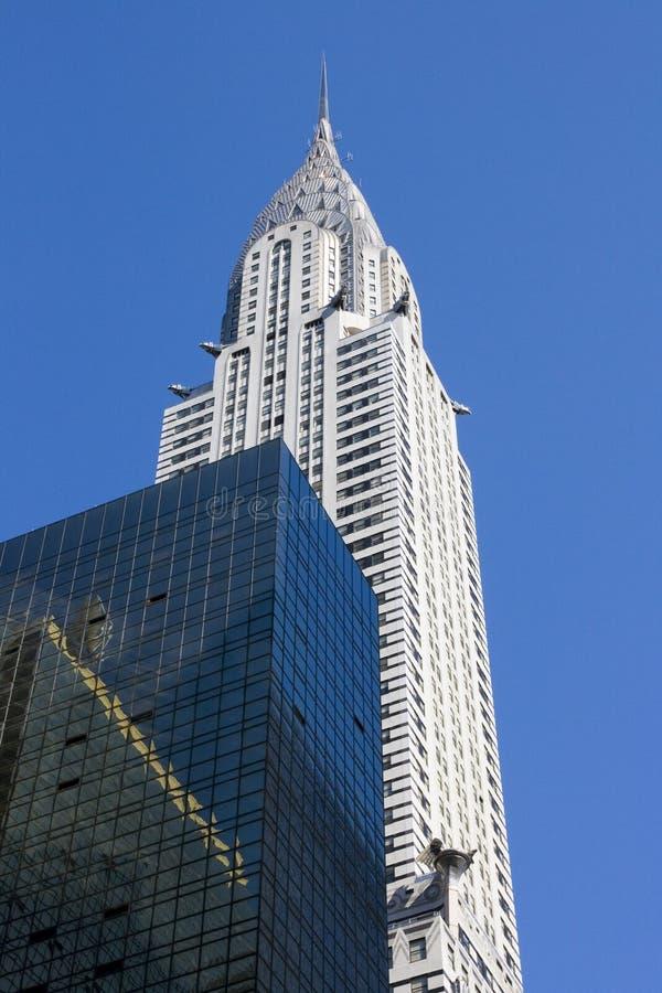 De Bouw van Chrysler stock afbeeldingen