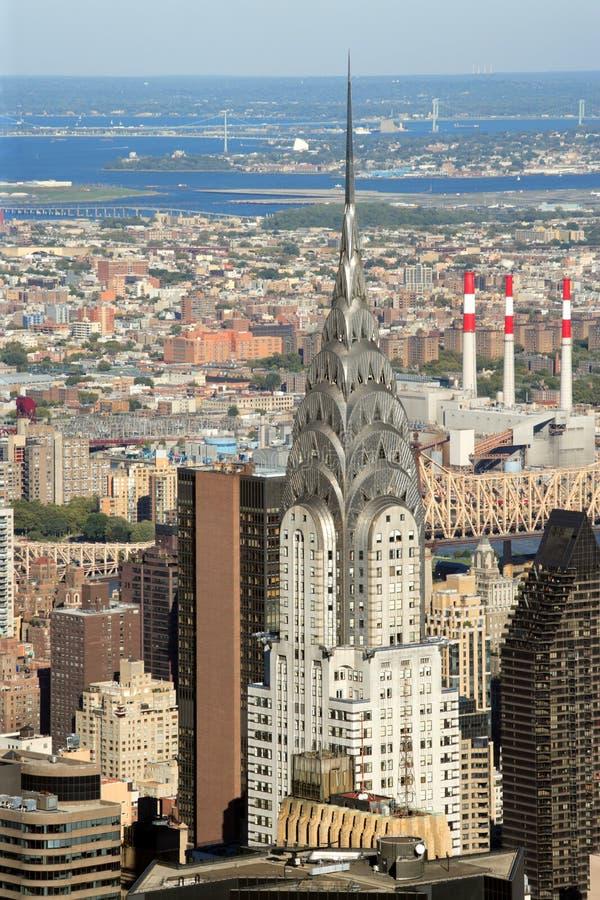 De Bouw van Chrysler in de Stad van New York royalty-vrije stock foto's