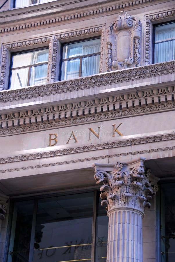 De bouw van de bank royalty-vrije stock fotografie