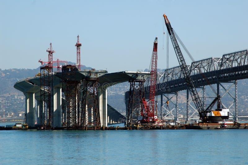 De Bouw van de brug royalty-vrije stock foto's